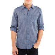 Chalc® Chambray Long-Sleeve Woven Shirt