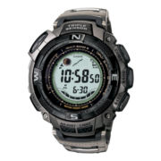 Casio® Pathfinder Tough Solar Triple Sensor Mens Atomic Timekeeping Watch