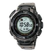 Casio® Pathfinder Tough Solar Triple Sensor Mens Atomic Timekeeping Watch