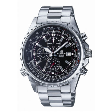 jcpenney.com | Casio® Edifice Mens Stainless Steel Chronograph Watch EF527D-1AV