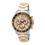 Invicta® Mens Two-Tone Stainless Steel Chronograph Sport Watch 15613
