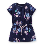 Carter's® Short-Sleeve Floral-Print Tunic - Girls 2t-5t