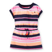 Carter's® Short-Sleeve Striped Tunic - Girls 2t-5t