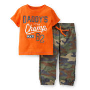 Carter's® Short-Sleeve Tee and Sweatpants Set - Boys 2t-5t