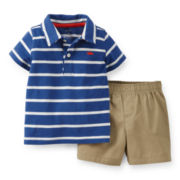 Carter's® Short-Sleeve Polo and Shorts Set - Boys 2t-5t