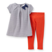 Carter's® 2-pc. Cap-Sleeve Top and Leggings Set - Girls 2t-5t