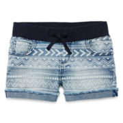 Arizona Aztec-Print Shorties - Girls 7-16 and Plus