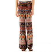 by&by Paisley Wide-Leg Pants