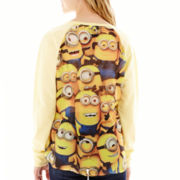 Despicable Me 2 Minion Raglan-Sleeve Pullover