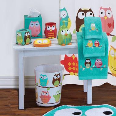 Bathroom Accessories Owls owls bath collection