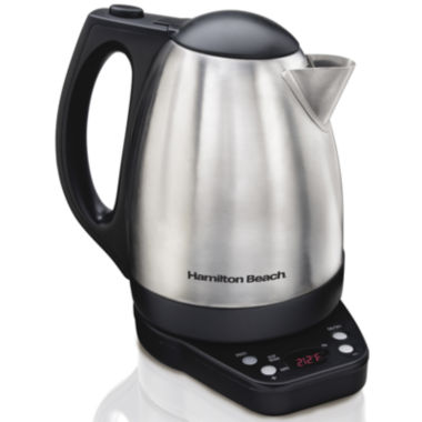 jcpenney.com | Hamilton Beach® 1.7-Liter Programmable Electric Kettle