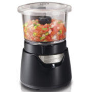 Hamilton Beach® Stack & Press™ 3-Cup Glass Bowl Chopper