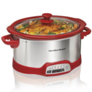 Hamilton Beach® Ensemble™ 5-qt. Programmable Slow Cooker
