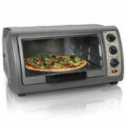 Hamilton Beach® Easy Reach™ 6-Slice Convection Oven
