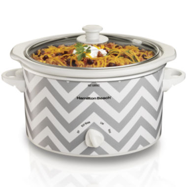 jcpenney.com | Hamilton Beach® 3-qt. Oval Slow Cooker