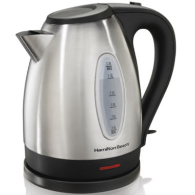jcpenney.com | Hamilton Beach® 1.7-Liter Stainless Steel Electric Kettle