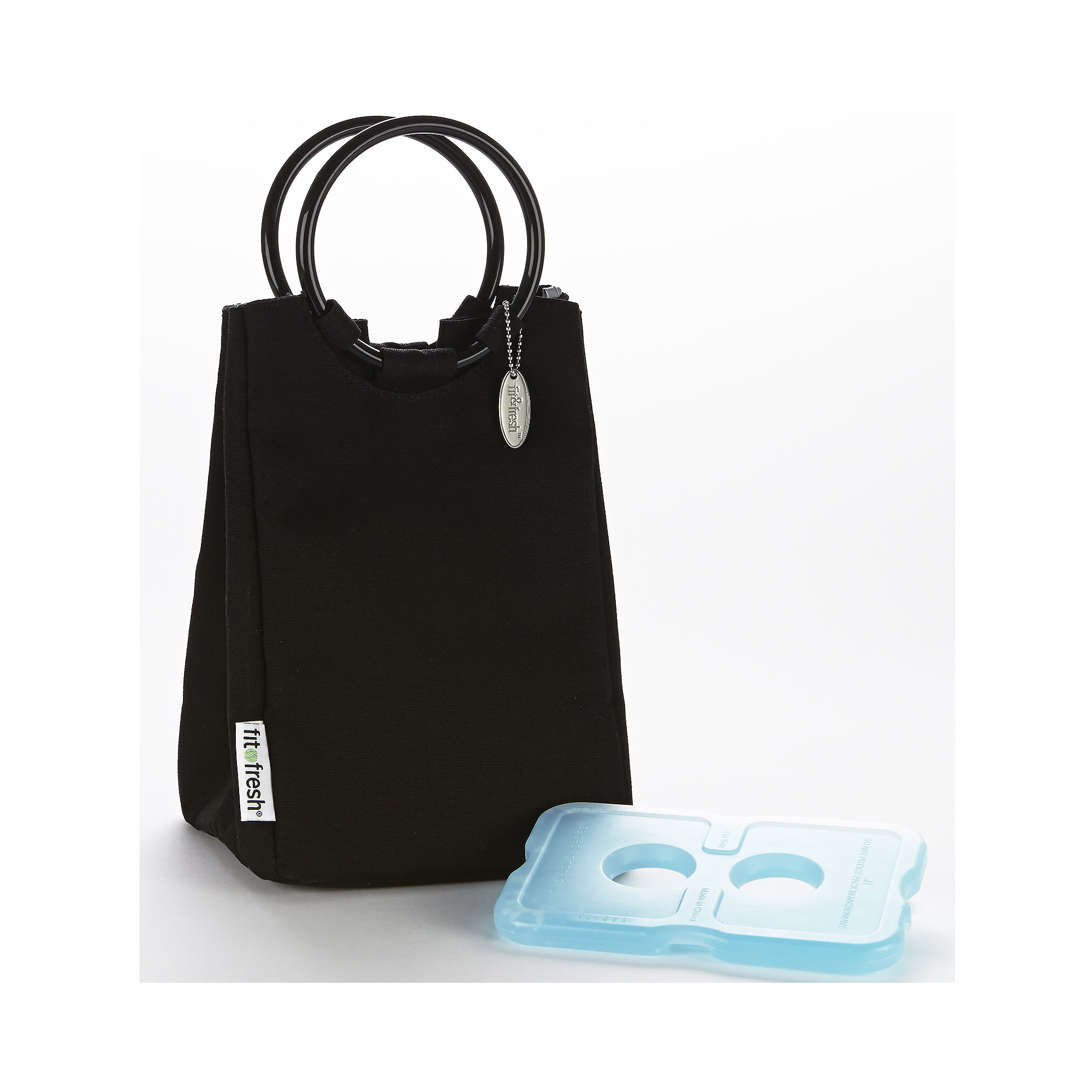Fit & Fresh Ladies Retro Lunch Bag with Ice Pack