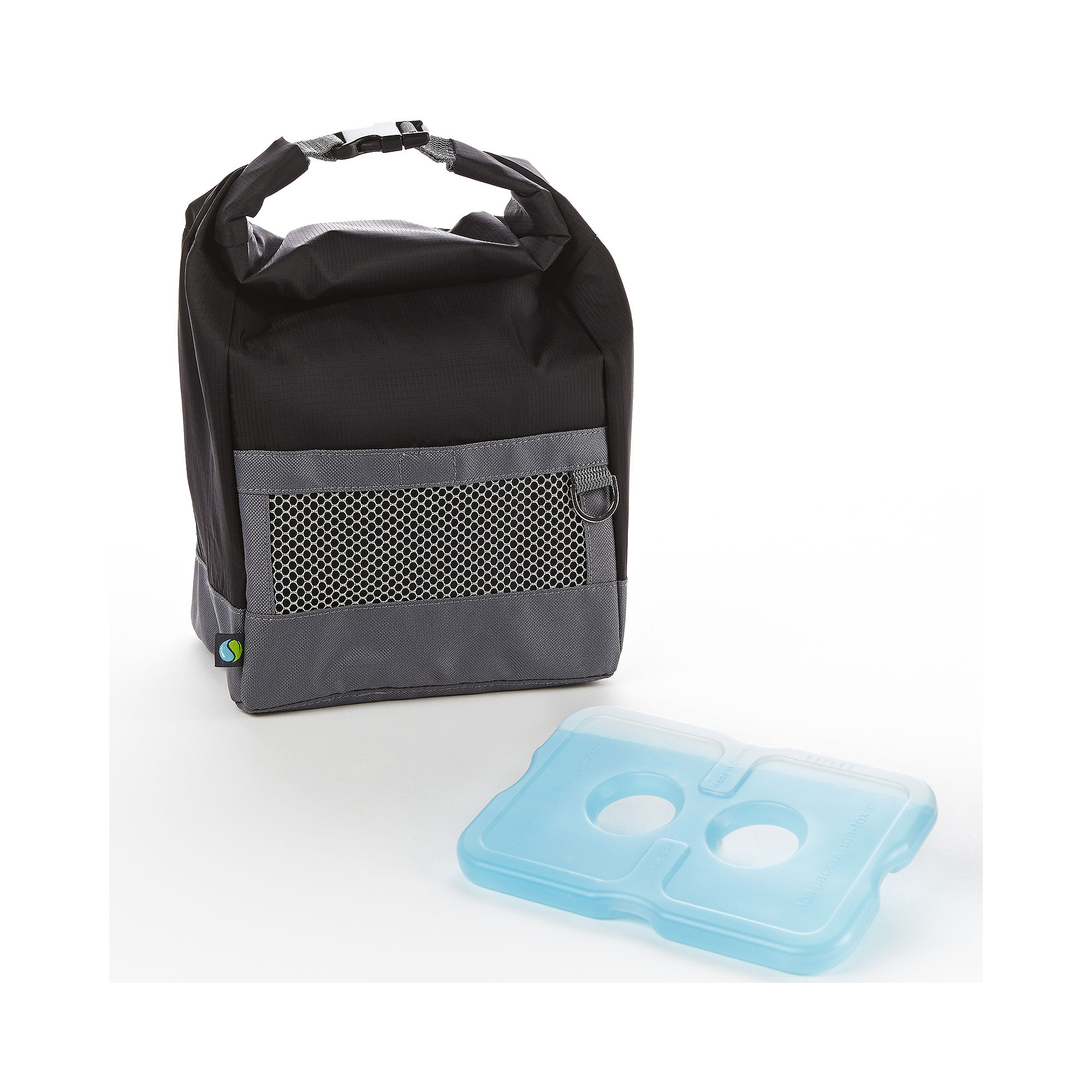 Fit & Fresh Men's Sporty Lunch Bag with Ice Pack