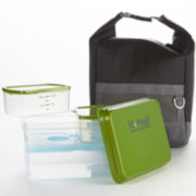 Fit & Fresh® Men's Sporty Lunch Bag Kit