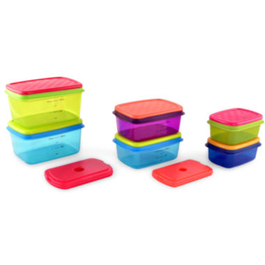 jcpenney.com | Fit & Fresh® 14-pc. Soft Touch Container Set