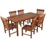 7-pc. Outdoor Dining Set