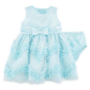 Bonnie Jean® Baby Doll Dress - Baby Girls 3m-24m