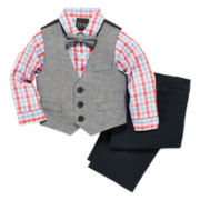 4-pc. Vest Set - Baby Boys 3m-24m