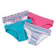 Hanes® 4-pk. Hipster Panties - Girls 6-16