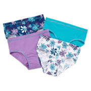 Hanes® 4-pk. Brief Panties - Girls 6-16
