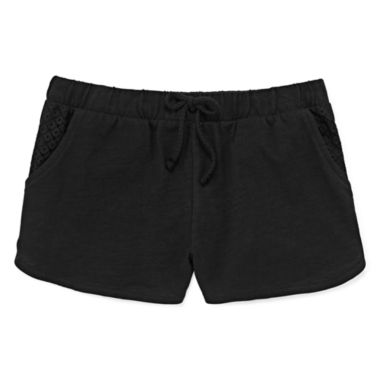 jcpenney.com | Total Girl® Solid Dolphin Shorts - Girls 7-16 and Plus