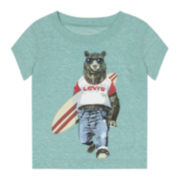 Levi's® Canal Graphic Tee - Baby Girls 12-24m
