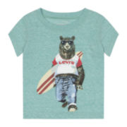 Levi's® Canal Graphic Tee - Baby Girls 3-9m