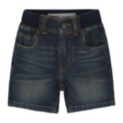 Levi's® Denim Knit Shorts - Baby Boys 12m-24m