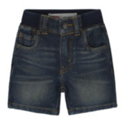 Levi's® Denim Knit Shorts - Baby Boys 3m-9m