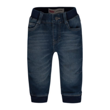 jcpenney.com | Levi's® Knit Denim Jogger Baby Girls 12m-24m