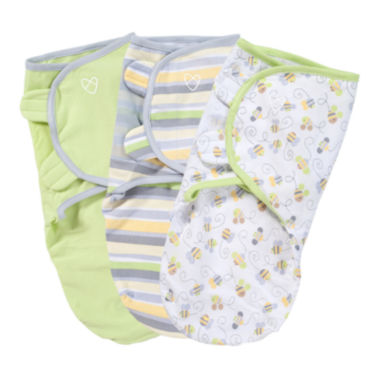 jcpenney.com | Summer Infant® 3-pk. SwaddleMe® - Busy Bees