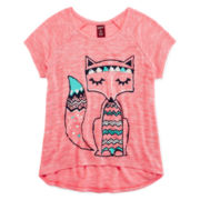 Arizona Raglan Knit Top - Girls 7-16 and Plus