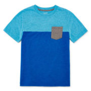 Arizona Short-Sleeve Colorblock Tee - Boys 8-20 and Husky