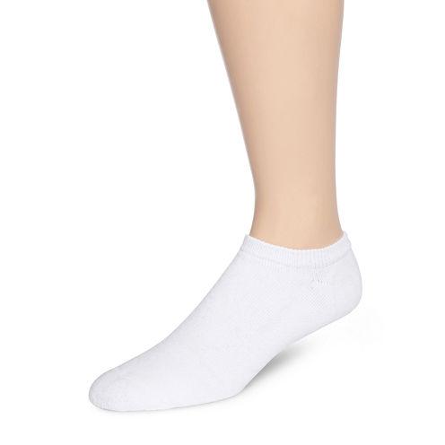 Hanes® Mens 6-Pk. Comfortblend® Full Cushion No Show Socks + Bonus Pair