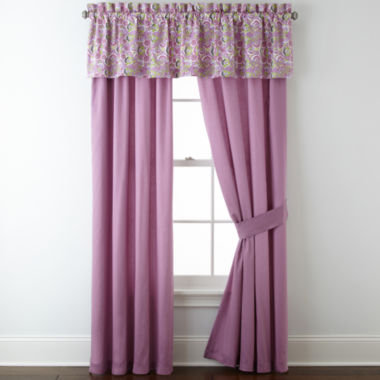 jcpenney.com | Roselle Lilac 2-Pack Curtain Panels