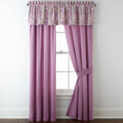 Roselle Lilac 2-Pack Curtain Panels