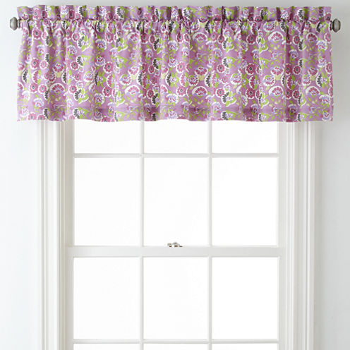 Roselle Lilac Valance