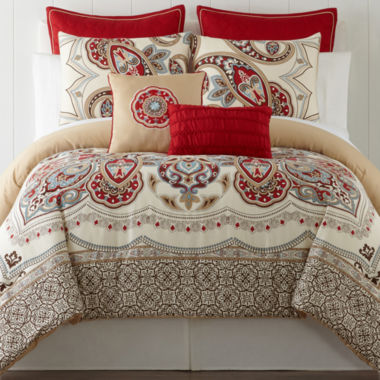 jcpenney.com | Star Paisley 5-pc. Comforter Set & Accessories