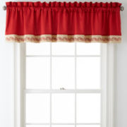 Star Paisley Roselle Rod-Pocket Valance