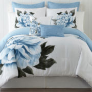 Blue Floral 5-pc. Comforter Set