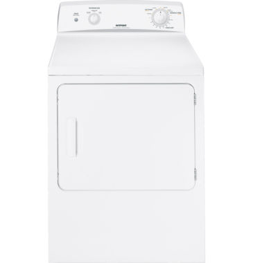 jcpenney.com | Hotpoint® 6.0 cu. ft. Capacity Dura Drum Electric Dryer