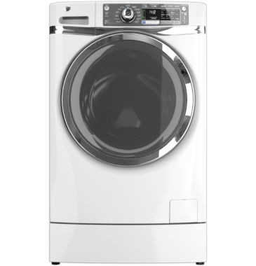 jcpenney.com | GE® 4.8 DOE Cu. ft. Capacity RightHeight Design Front-Load Washer ENERGY STAR