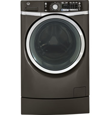 jcpenney.com | GE® ENERGY STAR® 4.8 DOE Cu. ft. High Efficiency RightHeight™ Design Front-Load Washer