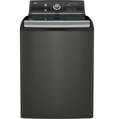 jcpenney.com | GE® ENERGY STAR®  5.1 DOE cu. ft. High Efficiency Capacity Top-Loading Washer with Stainless SteelBasket