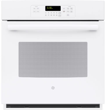 "jcpenney.com | GE® 27"" Built-In Single Electric Wall Oven Standard Clean with Steam"